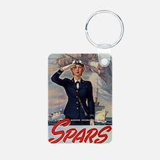WWII Coast Guard Women Rec Keychains