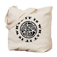 ItIsWhatItIs12x12 Tote Bag