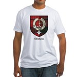 Chisholm Clan Crest Tartan Fitted T-Shirt