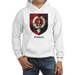 Chisholm Clan Crest Tartan Hooded Sweatshirt