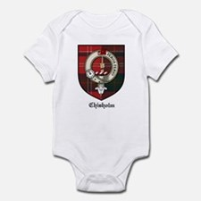Chisholm Clan Crest Tartan Infant Bodysuit