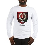 Chisholm Clan Crest Tartan Long Sleeve T-Shirt