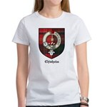 Chisholm Clan Crest Tartan Women's T-Shirt