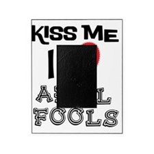 Kiss Me I Love April Fools Picture Frame