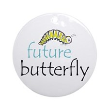 future butterfly Ornament (Round)