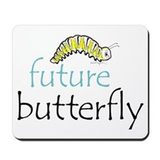 future butterfly Mousepad