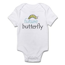 future butterfly front only Infant Bodysuit