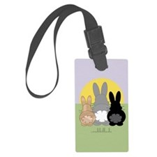 Rabbittude Posse Journal Luggage Tag