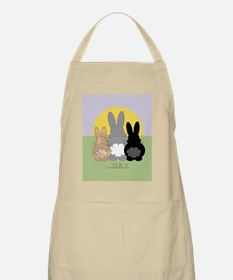 Rabbittude Posse Journal Apron