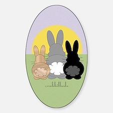 Rabbittude Posse Journal Decal