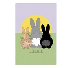 Rabbittude Posse Journal Postcards (Package of 8)