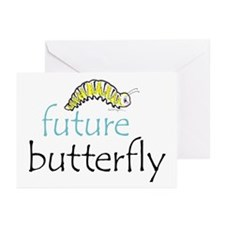future butterfly Greeting Cards (Pk of 10)