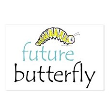 future butterfly Postcards (Package of 8)