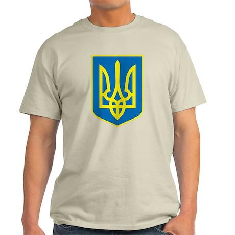 Ukraine Coat of Arms Light T-Shirt