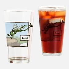 Meet Popper! Drinking Glass