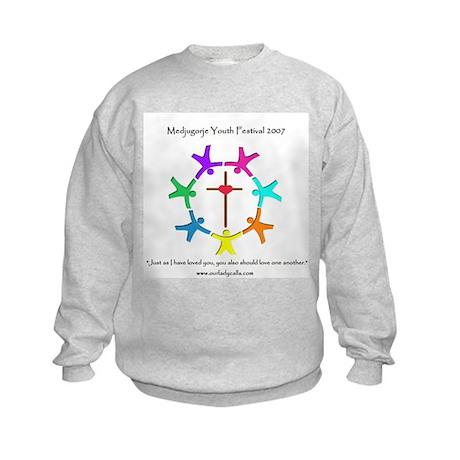 2007 Youth Festival Design Kids Sweatshirt