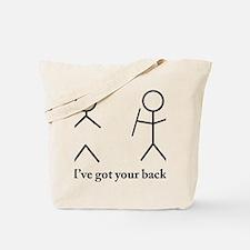 Stick Figure Humor Tote Bag