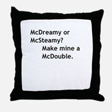 McDouble Throw Pillow