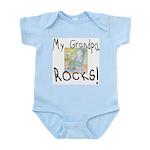 Grandpa Rocks 2 Infant Bodysuit