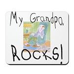 Grandpa Rocks 2 Mousepad
