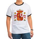 Spain Coat of Arms Ringer T