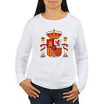 Spain Coat of Arms Women's Long Sleeve T-Shirt