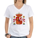 Spain Coat of Arms Women's V-Neck T-Shirt