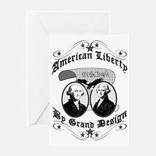 American Liberty Greeting Card