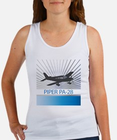 Aircraft Piper PA-28 Women's Tank Top