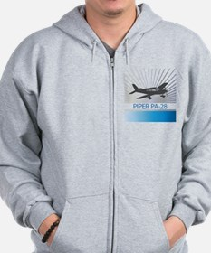 Aircraft Piper PA-28 Zip Hoodie