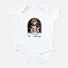 Caution Hamster Infant Bodysuit