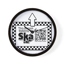 Listens to SKA Wall Clock