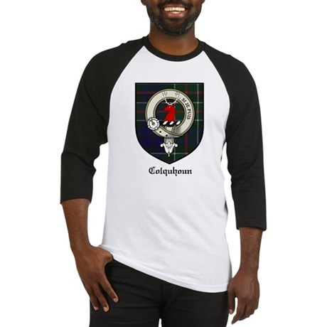 Colquhoun Clan Crest Tartan Baseball Jersey