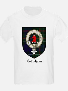 Colquhoun Clan Crest Tartan Kids T-Shirt