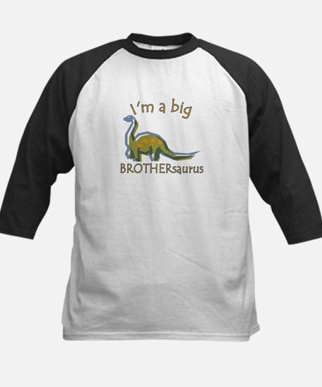 I'm a Big Brothersaurus Kids Baseball Jersey