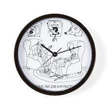 The Taxidermist  The IRS Wall Clock
