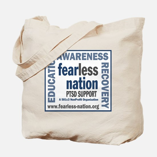 FN logo with url SOLID Tote Bag