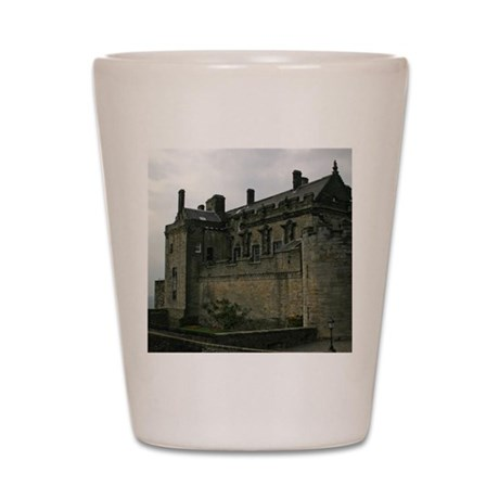 Stirling Castle Coaster Shot Glass