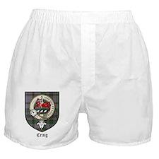 Craig Clan Crest Tartan Boxer Shorts
