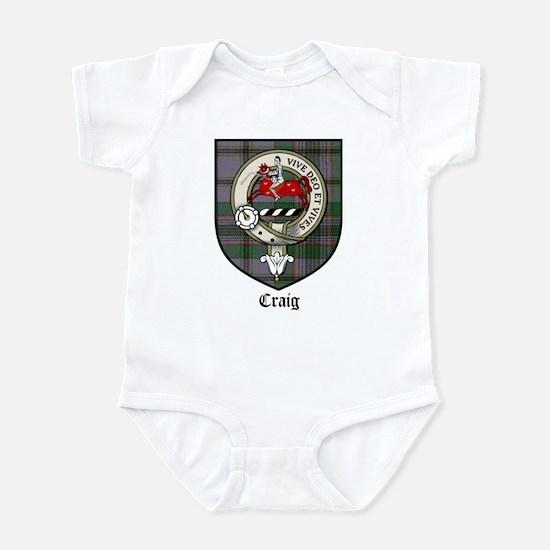 Craig Clan Crest Tartan Infant Bodysuit