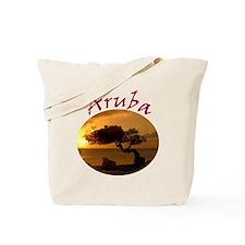 Aruba-Sunsets Logo Tote Bag