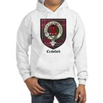 Crawford Clan Crest Tartan Hooded Sweatshirt