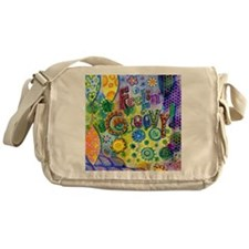 Feelin Groovy Square Messenger Bag