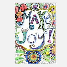 Make Joy Postcards (Package of 8)