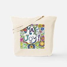 Make Joy Tote Bag