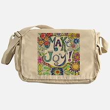Make Joy Messenger Bag