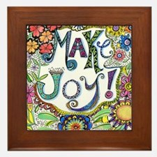 Make Joy Framed Tile