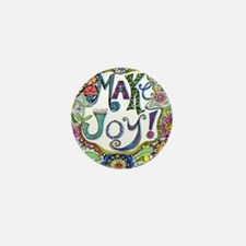 Make Joy Mini Button