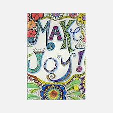 Make Joy Rectangle Magnet