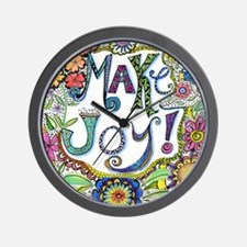 Make Joy Wall Clock
